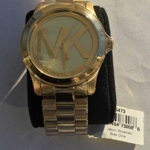 Michael Kors Goldtone Stainless Steel Watch